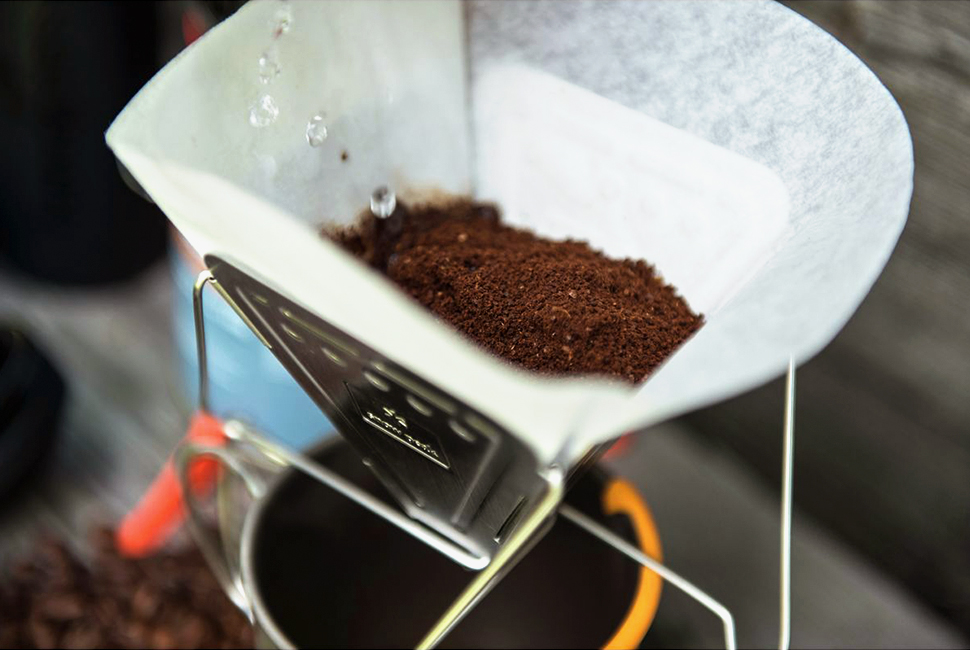 Koffieloos hiken