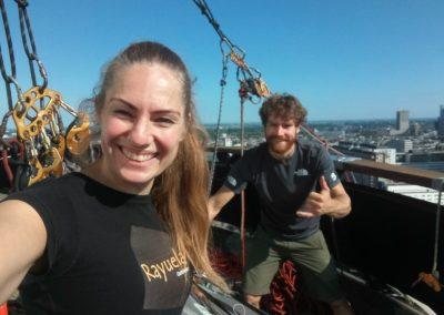 Met professioneel klimmer Siebe Vanhee