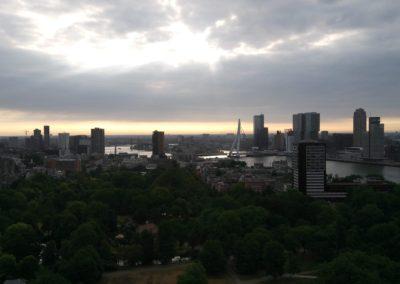 Sunset over Erasmusbrug